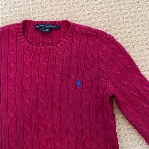 Ralph Lauren Small Cable-knit Sweater
